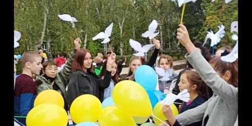 Діти України за мир: Міжнародний день миру!