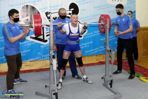 Чемпіонат України з пауерліфтингу серед спортсменів з порушенням зору
